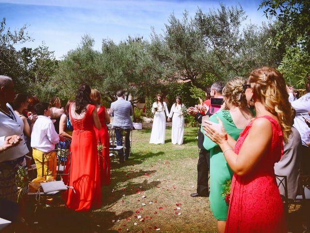La boda de Sara y Lourdes en Hervas, Cáceres 57
