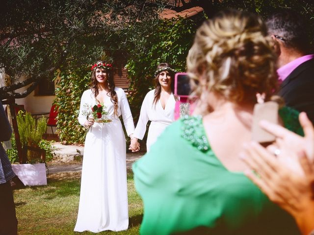 La boda de Sara y Lourdes en Hervas, Cáceres 58