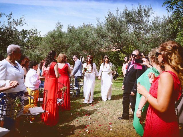 La boda de Sara y Lourdes en Hervas, Cáceres 59