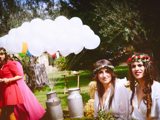 La boda de Sara y Lourdes en Hervas, Cáceres 60