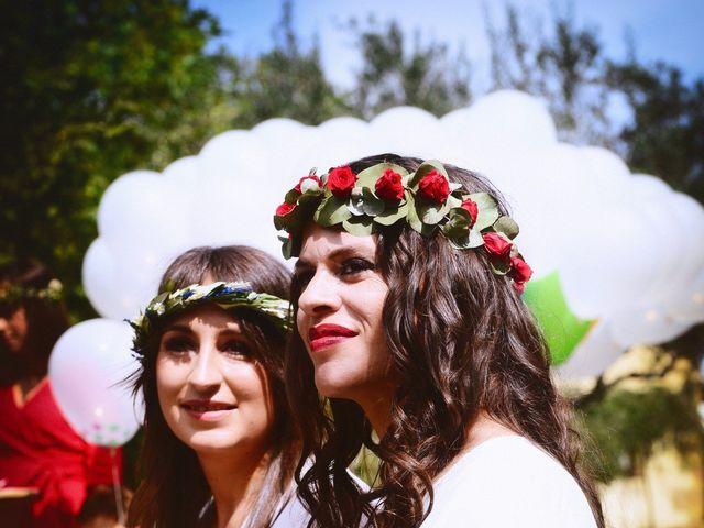 La boda de Sara y Lourdes en Hervas, Cáceres 61