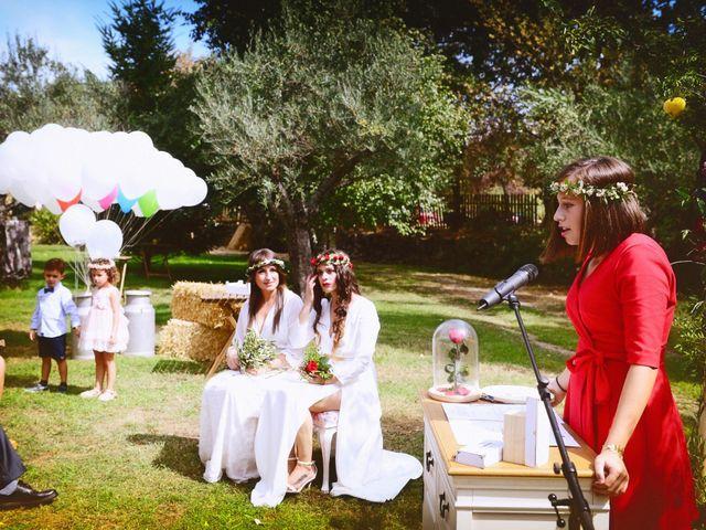La boda de Sara y Lourdes en Hervas, Cáceres 63