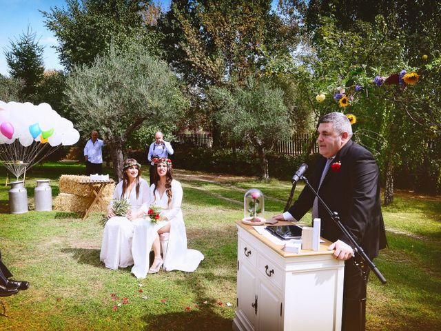 La boda de Sara y Lourdes en Hervas, Cáceres 66