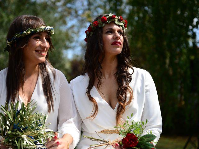 La boda de Sara y Lourdes en Hervas, Cáceres 68