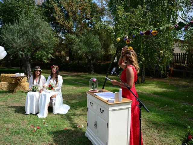 La boda de Sara y Lourdes en Hervas, Cáceres 71