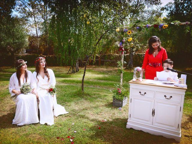 La boda de Sara y Lourdes en Hervas, Cáceres 73