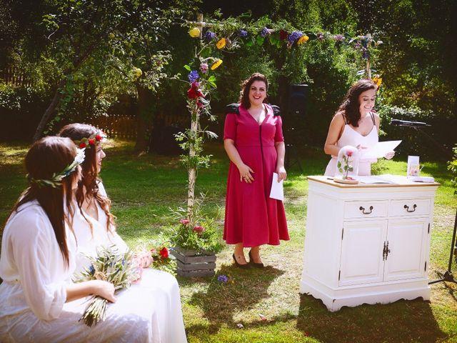 La boda de Sara y Lourdes en Hervas, Cáceres 78