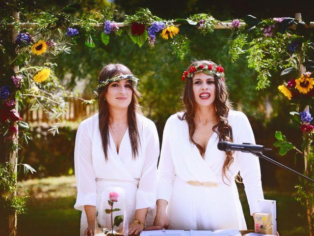 La boda de Sara y Lourdes en Hervas, Cáceres 80