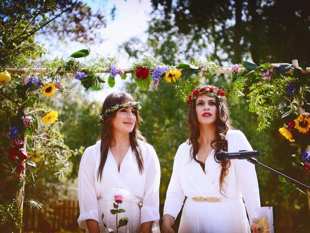 La boda de Sara y Lourdes en Hervas, Cáceres 82