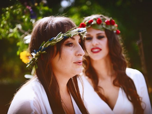 La boda de Sara y Lourdes en Hervas, Cáceres 83
