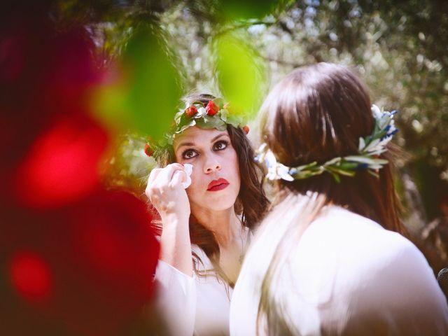 La boda de Sara y Lourdes en Hervas, Cáceres 84