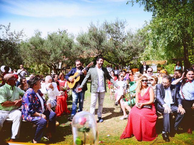 La boda de Sara y Lourdes en Hervas, Cáceres 89