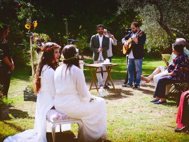 La boda de Sara y Lourdes en Hervas, Cáceres 91