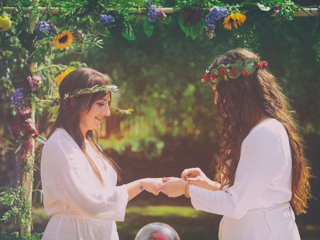 La boda de Sara y Lourdes en Hervas, Cáceres 92