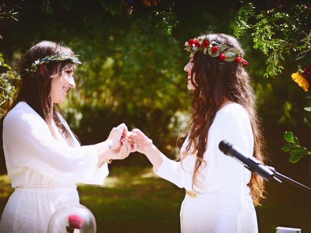 La boda de Sara y Lourdes en Hervas, Cáceres 93