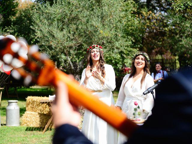 La boda de Sara y Lourdes en Hervas, Cáceres 94