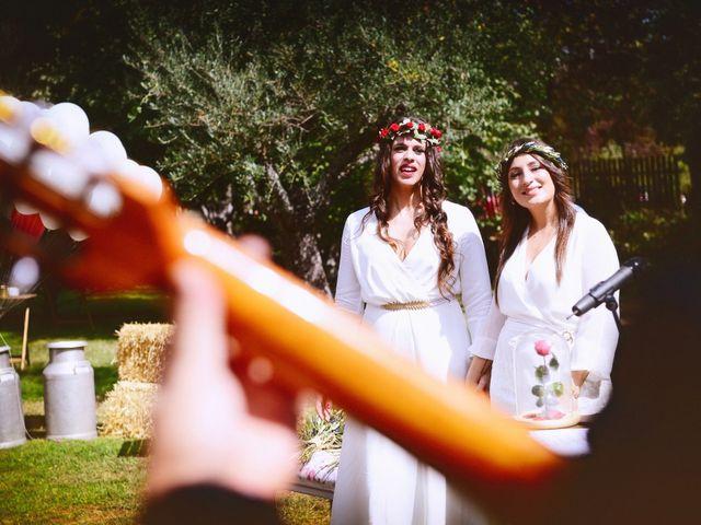 La boda de Sara y Lourdes en Hervas, Cáceres 95