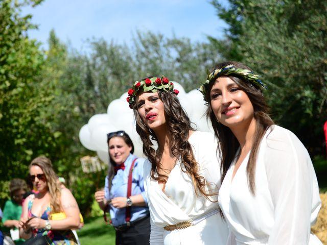 La boda de Sara y Lourdes en Hervas, Cáceres 96