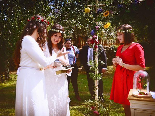 La boda de Sara y Lourdes en Hervas, Cáceres 98