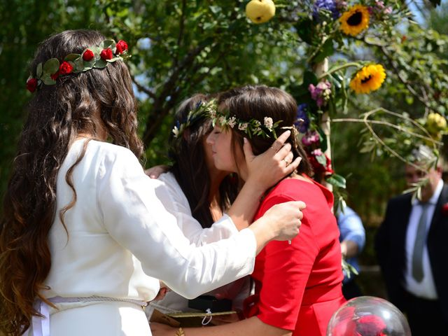 La boda de Sara y Lourdes en Hervas, Cáceres 99