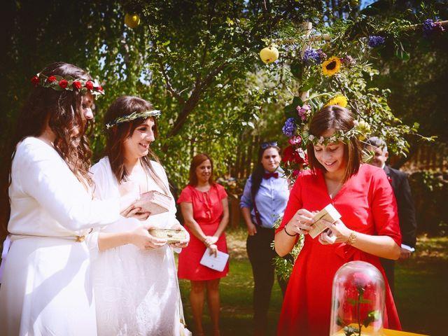 La boda de Sara y Lourdes en Hervas, Cáceres 100