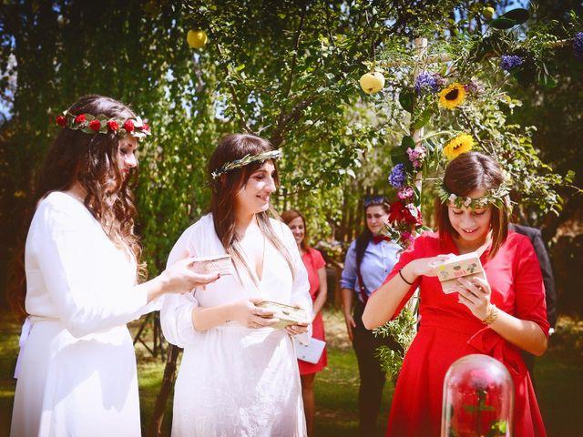La boda de Sara y Lourdes en Hervas, Cáceres 101