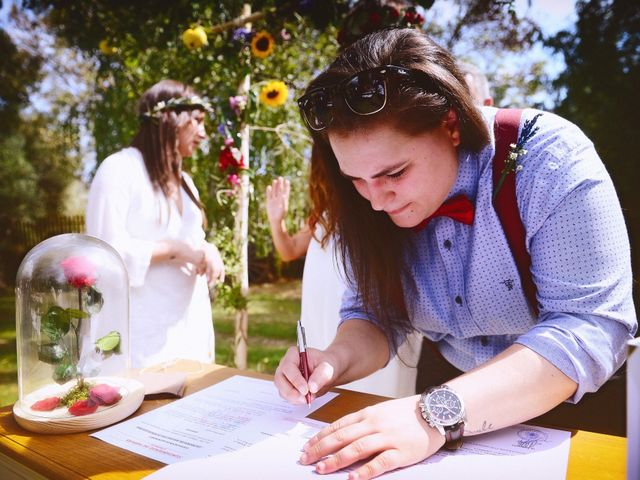 La boda de Sara y Lourdes en Hervas, Cáceres 102