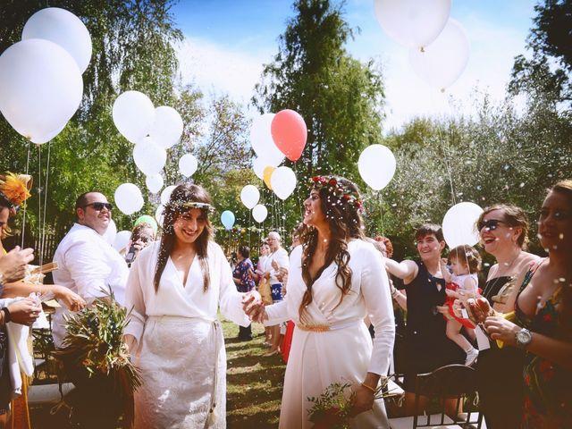 La boda de Sara y Lourdes en Hervas, Cáceres 106