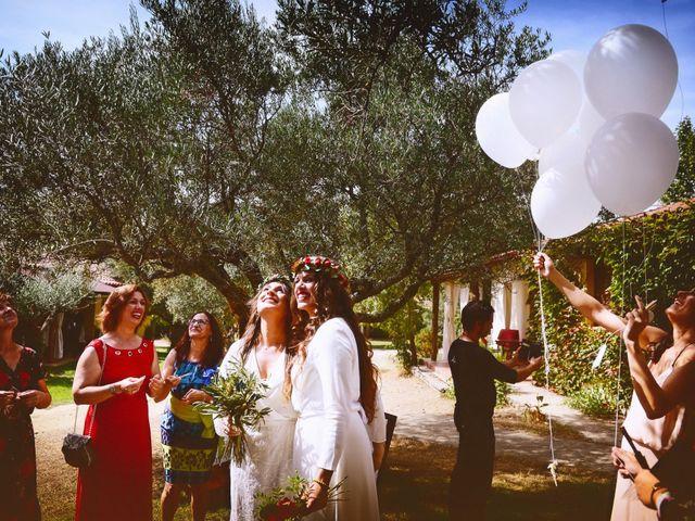 La boda de Sara y Lourdes en Hervas, Cáceres 108