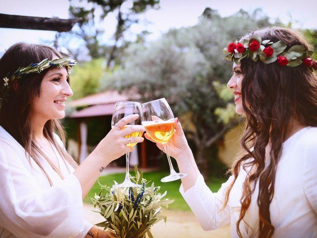 La boda de Sara y Lourdes en Hervas, Cáceres 109