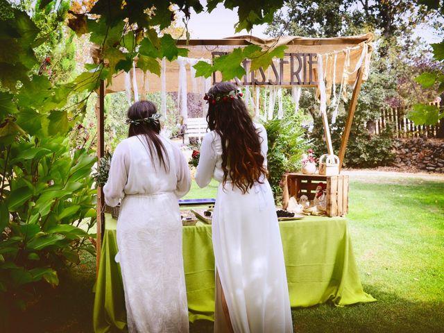 La boda de Sara y Lourdes en Hervas, Cáceres 114