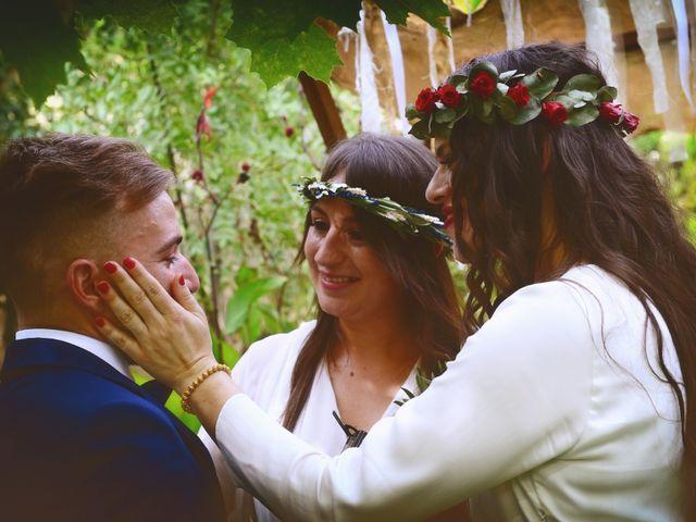 La boda de Sara y Lourdes en Hervas, Cáceres 125