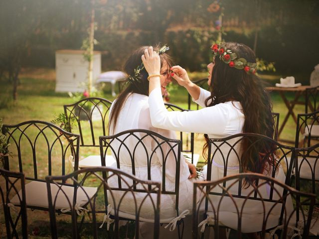 La boda de Sara y Lourdes en Hervas, Cáceres 126