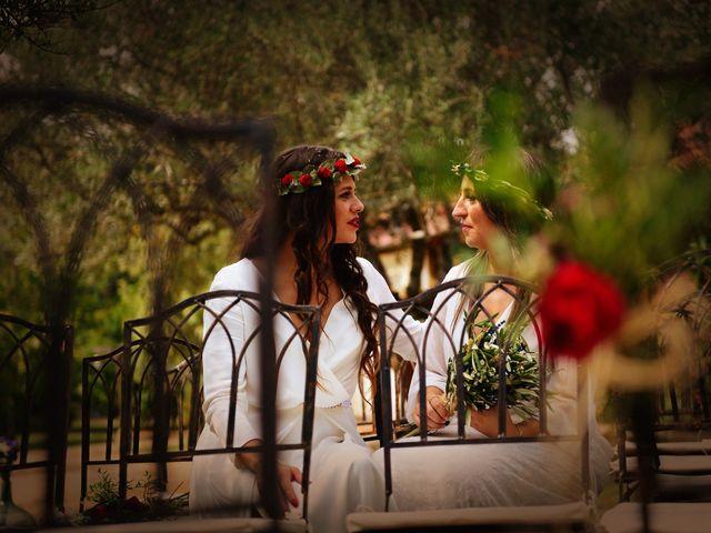 La boda de Sara y Lourdes en Hervas, Cáceres 131