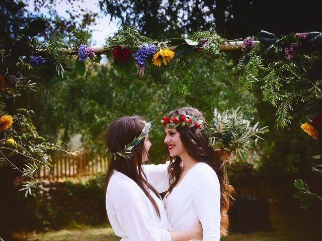 La boda de Sara y Lourdes en Hervas, Cáceres 132