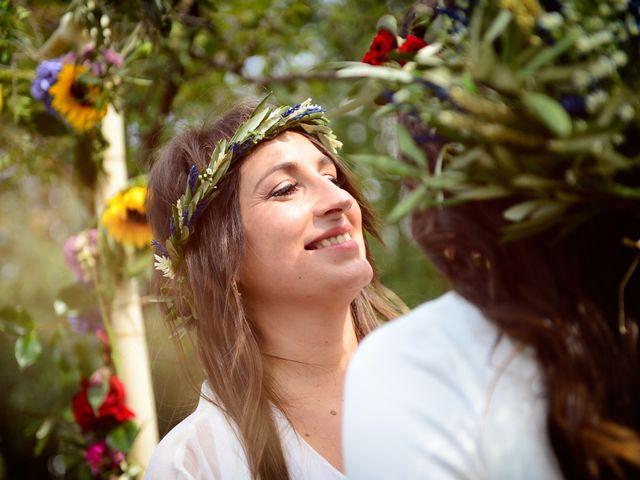 La boda de Sara y Lourdes en Hervas, Cáceres 135
