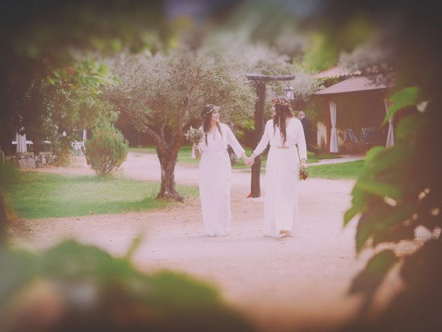 La boda de Sara y Lourdes en Hervas, Cáceres 137