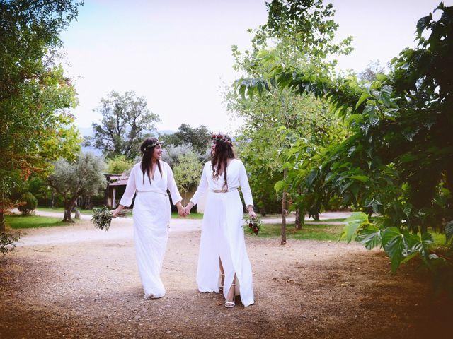 La boda de Sara y Lourdes en Hervas, Cáceres 138