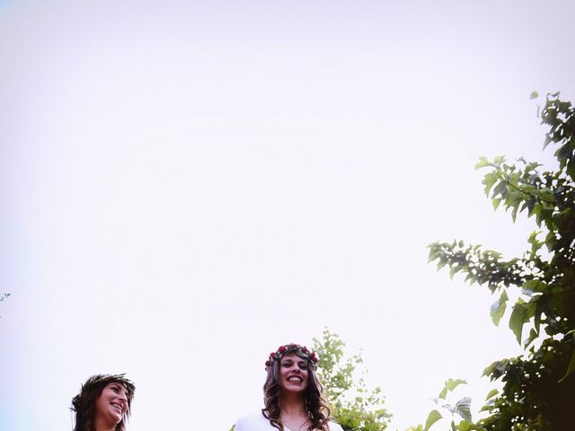 La boda de Sara y Lourdes en Hervas, Cáceres 139