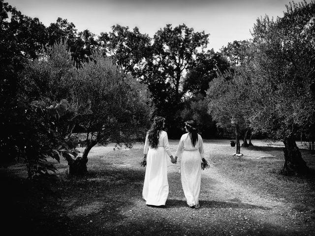 La boda de Sara y Lourdes en Hervas, Cáceres 140