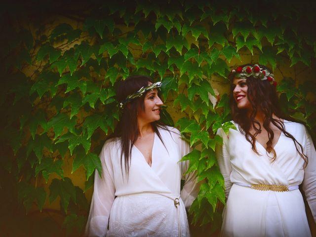 La boda de Sara y Lourdes en Hervas, Cáceres 144