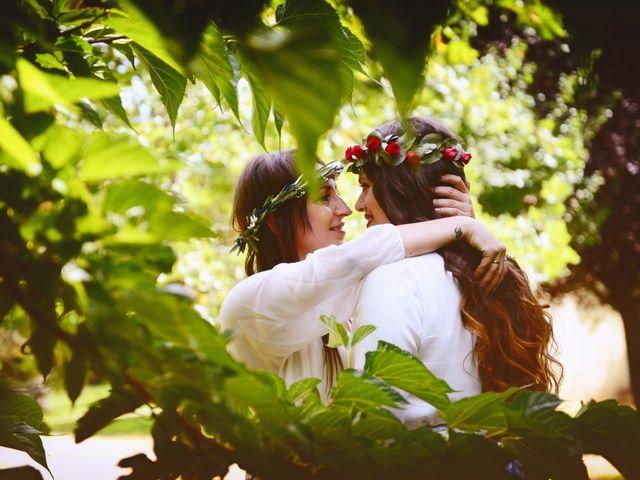 La boda de Sara y Lourdes en Hervas, Cáceres 147