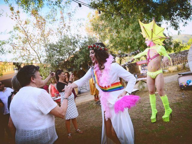 La boda de Sara y Lourdes en Hervas, Cáceres 172