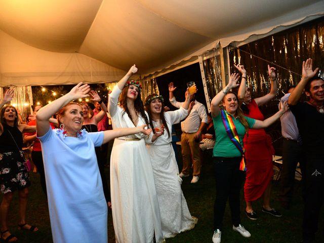 La boda de Sara y Lourdes en Hervas, Cáceres 182
