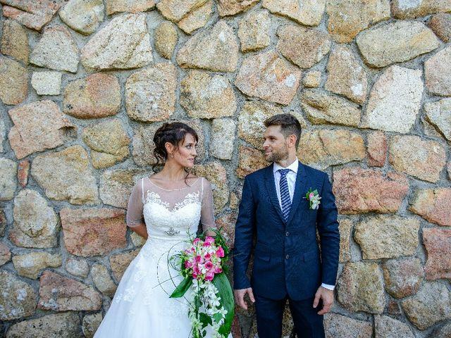 La boda de Tibi y Nuria en San Agustin De Guadalix, Madrid 1