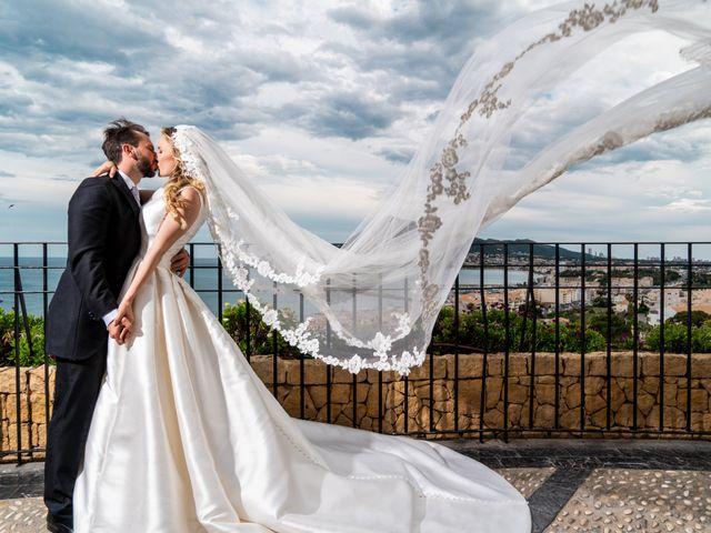 La boda de Carlo Calo y Jesly Silva en La Campaneta, Alicante 1