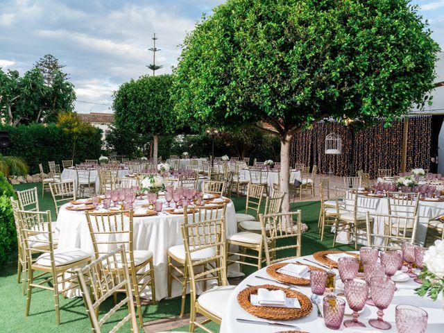 La boda de Carlo Calo y Jesly Silva en La Campaneta, Alicante 11