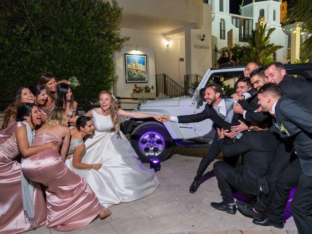 La boda de Carlo Calo y Jesly Silva en La Campaneta, Alicante 14