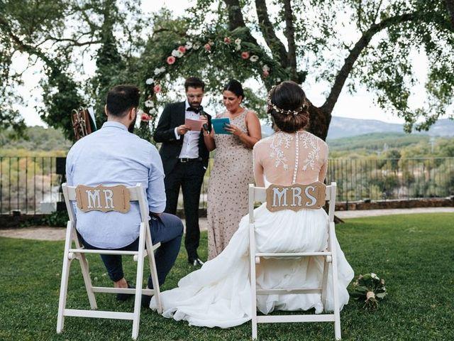 La boda de Raquel y Isra en Guadarrama, Madrid 71