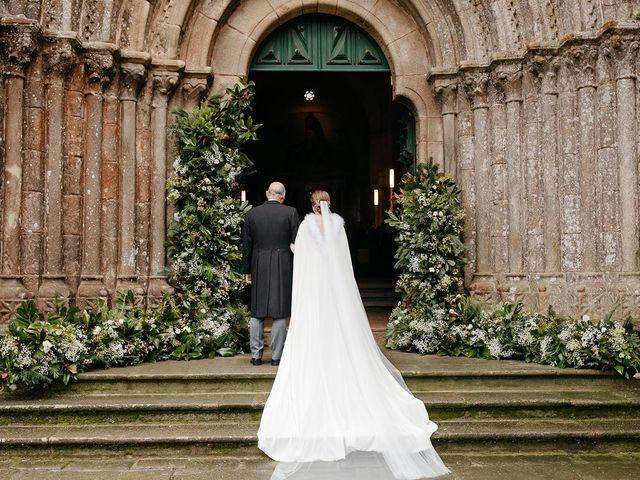 La boda de Guille y Sara en Raxó (Poio), Pontevedra 1
